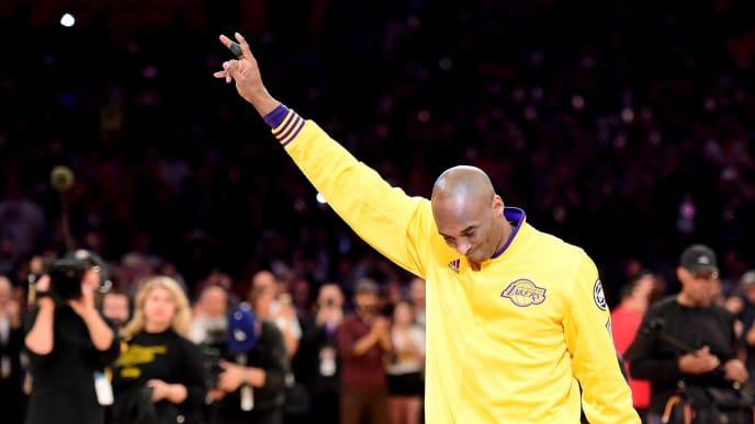 Kobe says goodbye