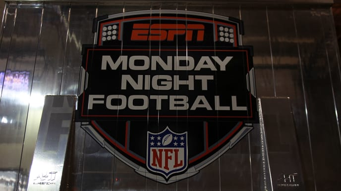 ARLINGTON, TX - SEPTEMBER 26:  An ESPN Monday Night Football truck at Cowboys Stadium on September 26, 2011 in Arlington, Texas.  (Photo by Ronald Martinez/Getty Images)