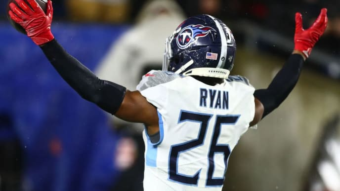 Logan Ryan was a key piece in the Titans' run in the NFL Playoffs.