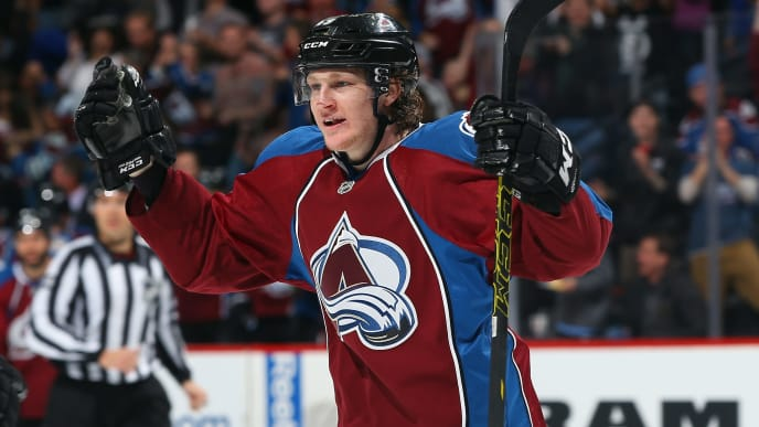 Nathan MacKinnon leads Colorado with 65 points.
