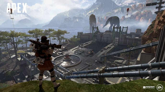 How to loot Leviathans in Apex Legends.