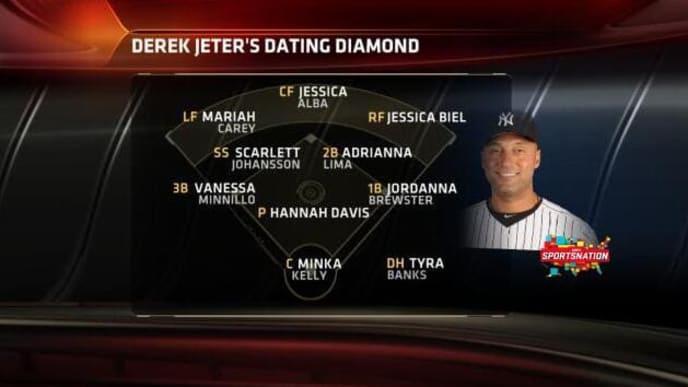sportsnation Jeter dating diamant