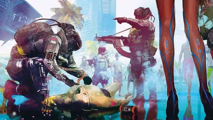 Cyberpunk 2077 having nudity is almost a for sure thing.
