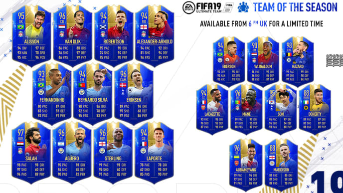 Cheapest TOTS FIFA 19 is a popular thing now because of the PL TOTS SBC