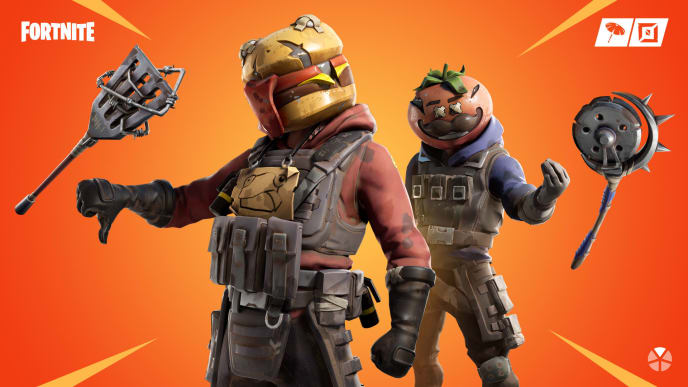 Foraged items in Fortnite can be consumed for small health and shield bonuses