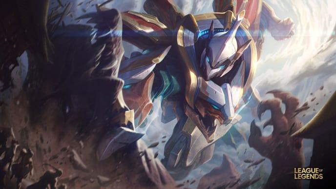 Mecha Kingdoms Sett in the official splash art