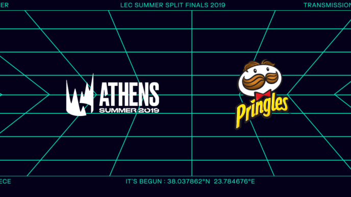 Pringles and the LEC finals have partnered to offer exclusive skins.