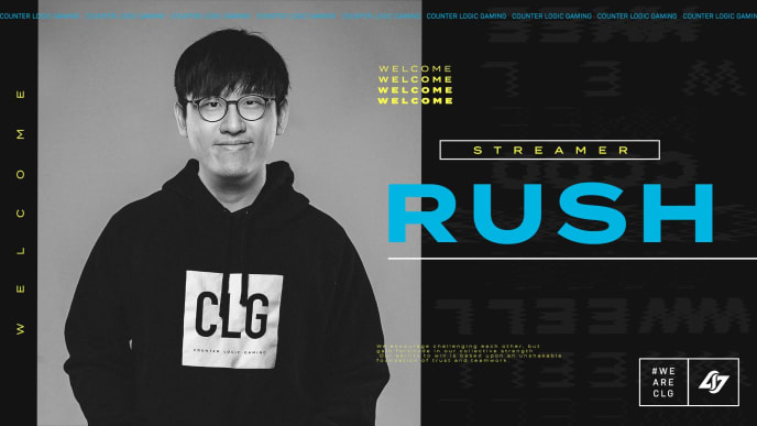 Rush joined CLG as a streamer for the organization Friday.