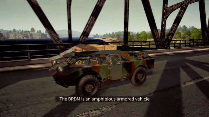 The BRDM is a new vehicle on its way to PUBG that is as effective on roads as in the water.