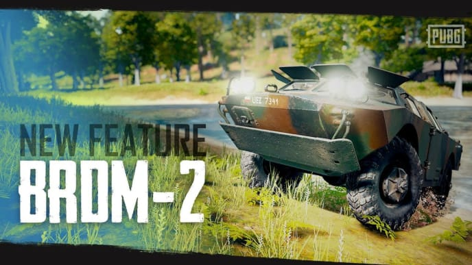 PUBG Corp added a hotfix to PUBG PC live servers Tuesday addressing a BRDM-2 bug among others.