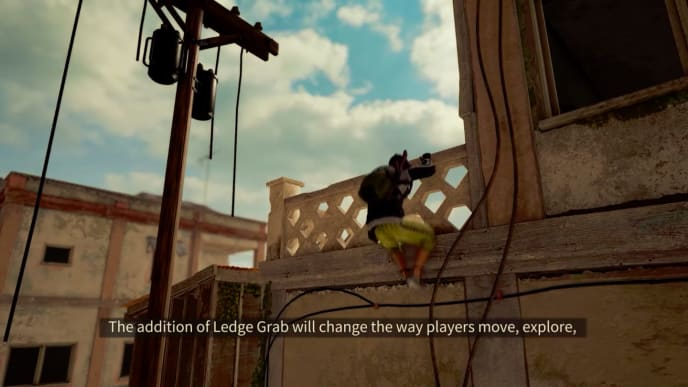 Ledge grabbing is coming to PUBG, according to a developer update posted Wednesday.
