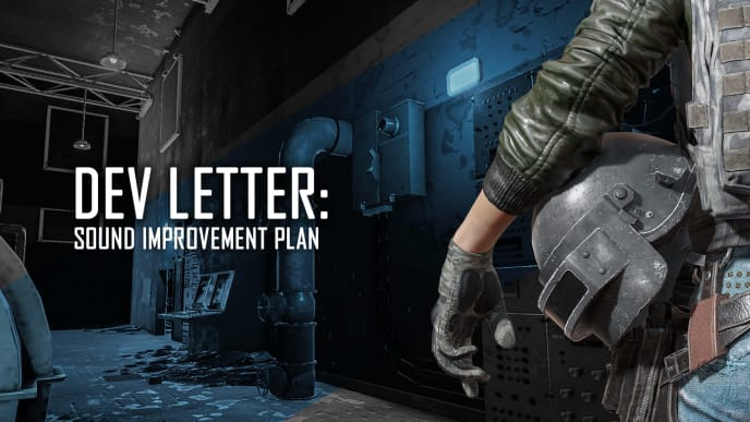 PUBG Corp revealed its plans for improving the game's sound in a dev letter published Monday.