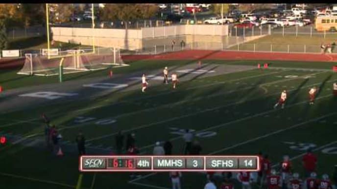Spanish Fork vs Maple Mountain HS Football | October 28, 2014