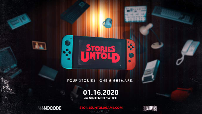 Stories Untold will arrive on Nintendo Switch on Thursday