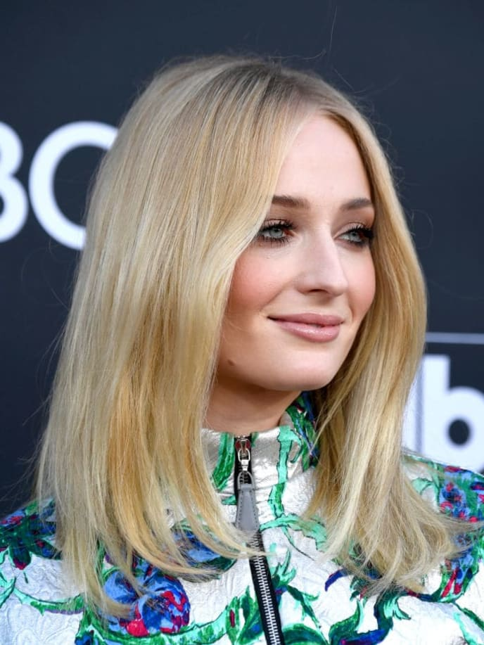 LAS VEGAS, NEVADA - MAY 01: Sophie Turner attends the 2019 Billboard Music Awards at MGM Grand Garden Arena on May 01, 2019 in Las Vegas, Nevada. (Photo by Frazer Harrison/Getty Images)