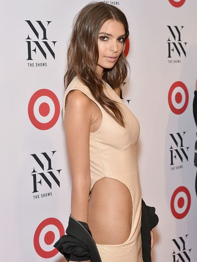 NEW YORK, NY - SEPTEMBER 06:  Actress Emily Ratajkowski attends Target + IMG's NYFW kickoff at The Park at Moynihan Station on September 6, 2017 in New York City.  (Photo by Mike Coppola/Getty Images)