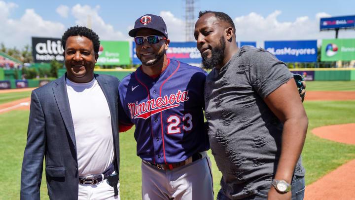 Nelson Cruz, Pedro Martinez, Vladimir Guerrero