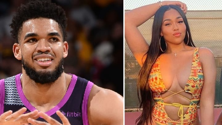 Karl Anthony Towns Spotted with Jordyn Woods After Creeping on Her IG