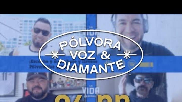 Agustín Murillo toma asiento en la Cantina de Baseball   Pólvora, Voz y Diamante 04.22.21