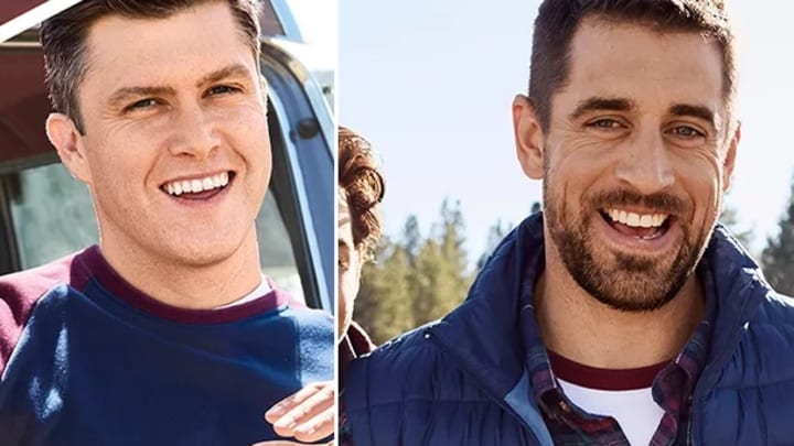Aaron Rodgers Joins Snl S Colin Jost In Izod S Commercial