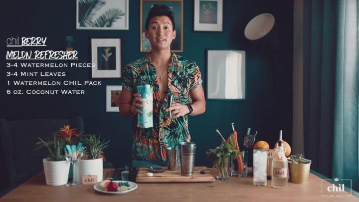 Conrad K. Pratt's Berry Melon Refresher for Chil Mixers