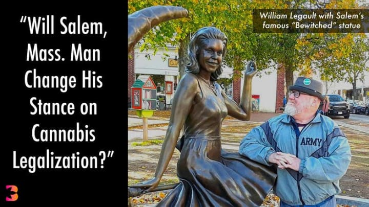 Veteran and 'Salem Digest' publisher William Legault ponders his 'cannabis conundrum.