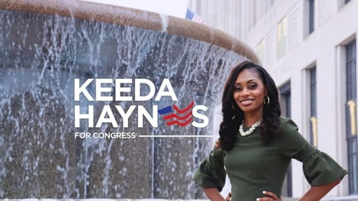 Keeda Haynes, who served four years on felony marijuana charges, is now running for U.S. Congress