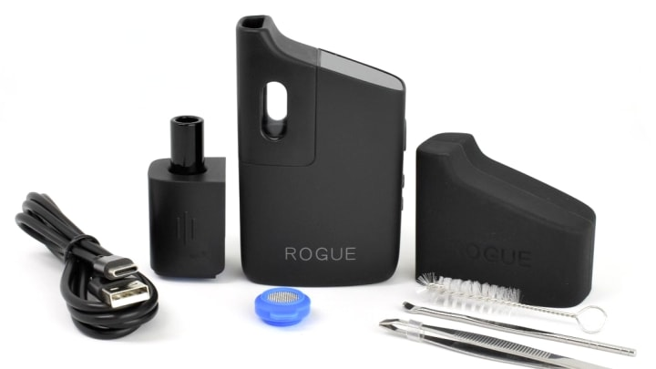 The ROGUE is the newest dry herb vaporizer by Healthy Rips.