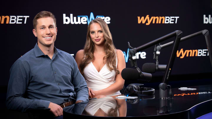 """Joe Fann and Claudia Bellofatto are the hosts for WynnBET's newest show, """"Bet to Wynn."""""""