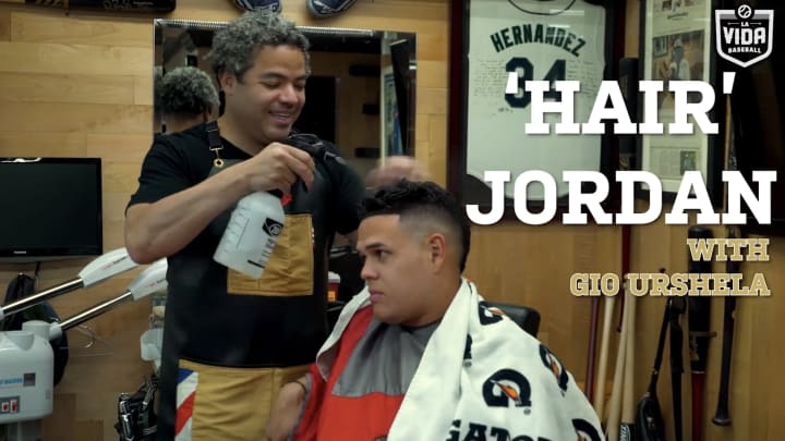'Hair' Jordan MLB Barber