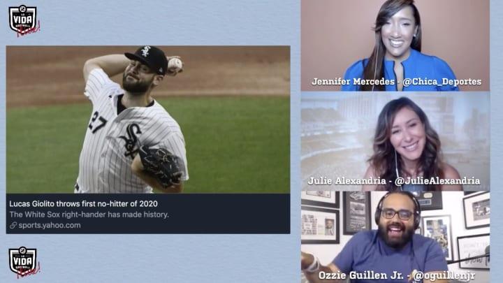 Jennifer Mercedes, Ozzie Guillén Jr., and Julie Alexandria break it down on La Vida Baseball ¡Live!