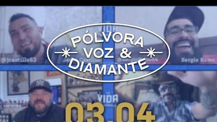 Encendamos los mechones con Sergio Romo | Pólvora, Voz y Diamante 03.03.21