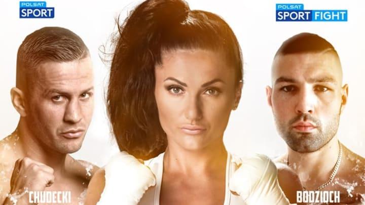 Polish Boxer Ewa Brodnicka Totally Game for Playboy Shoot