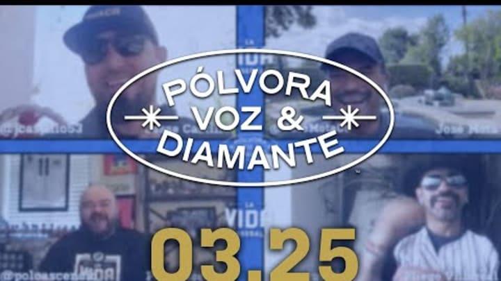 The Angels José Mota pasa por la Cantina   Pólvora, Voz y Diamante 03.25.21