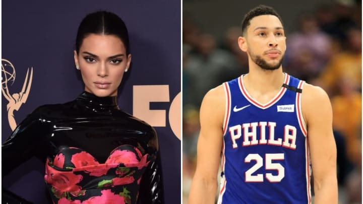 Kendall Jenner and Ben Simmons reportedly looked 'in love' while grocery shopping in New Jersey