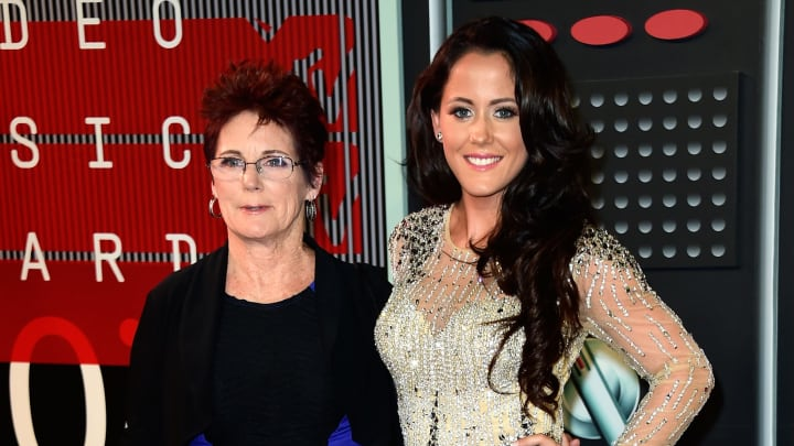LOS ANGELES, CA - AUGUST 30:  Barbara Evans (L) and Jenelle Evans attend the 2015 MTV Video Music Awards at Microsoft Theater on August 30, 2015 in Los Angeles, California.  (Photo by Frazer Harrison/Getty Images)