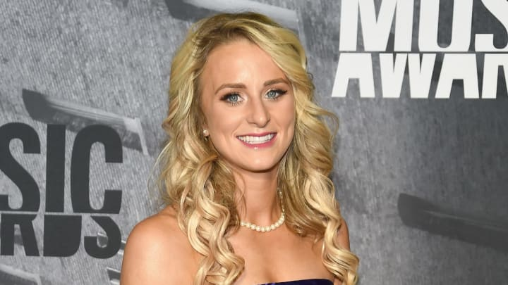 NASHVILLE, TN - JUNE 07:  TV personality Leah Messer attends the 2017 CMT Music Awards at the Music City Center on June 7, 2017 in Nashville, Tennessee.  (Photo by Rick Diamond/Getty Images for CMT)