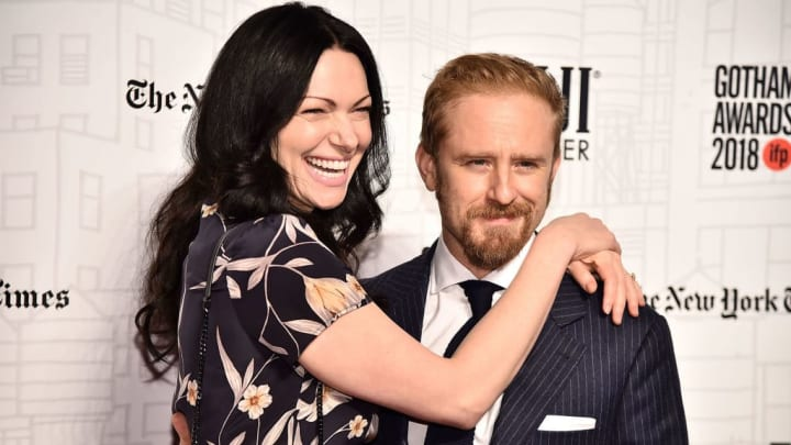 NEW YORK, NY - NOVEMBER 26:  Laura Prepon and Ben Foster attend the 2018 Gotham Awards on November 26, 2018 in New York City.  (Photo by Theo Wargo/Getty Images)