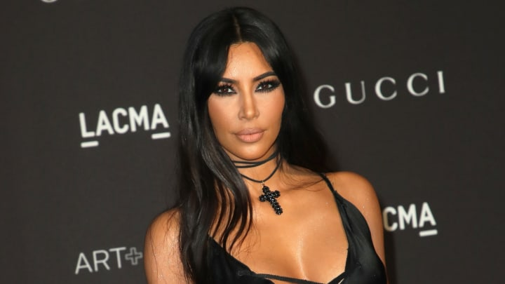 LOS ANGELES, CA - NOVEMBER 03:  Kim Kardashian West attends 2018 LACMA Art + Film Gala honoring Catherine Opie and Guillermo del Toro presented by Gucci at LACMA on November 3, 2018 in Los Angeles, California.  (Photo by David Livingston/Getty Images)