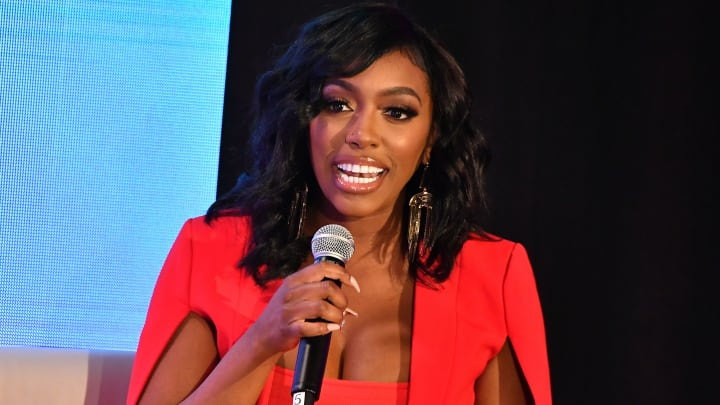 ATLANTA, GEORGIA - OCTOBER 10:  Porsha Williams onstage during A3C Festival & Conference at AmericasMart on October 10, 2019 in Atlanta, Georgia. (Photo by Paras Griffin/Getty Images)