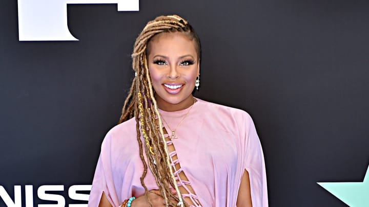 LOS ANGELES, CALIFORNIA - JUNE 23: Eva Marcille attends the 2019 BET Awards at Microsoft Theater on June 23, 2019 in Los Angeles, California. (Photo by Aaron J. Thornton/Getty Images for BET)