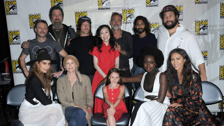 The Walking Dead Los Personajes Principales De La Temporada 10