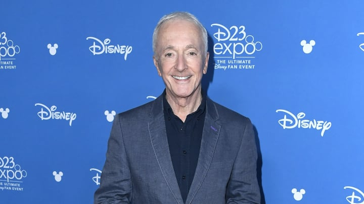 ANAHEIM, CALIFORNIA - AUGUST 24: Anthony Daniels attends Go Behind The Scenes with Walt Disney Studios during D23 Expo 2019 at Anaheim Convention Center on August 24, 2019 in Anaheim, California. (Photo by Frazer Harrison/Getty Images)