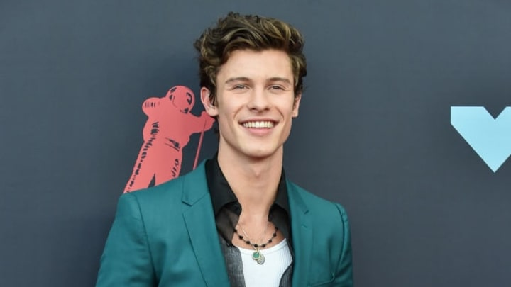 NEWARK, NEW JERSEY - AUGUST 26: Singer Shawn Mendes attends the 2019 MTV Video Music Awards red carpet at Prudential Center on August 26, 2019 in Newark, New Jersey. (Photo by Aaron J. Thornton/Getty Images)