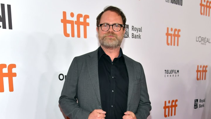 """TORONTO, ONTARIO - SEPTEMBER 06: Rainn Wilson attends the """"Blackbird"""" premiere during the 2019 Toronto International Film Festival at Roy Thomson Hall on September 06, 2019 in Toronto, Canada. (Photo by Emma McIntyre/Getty Images)"""