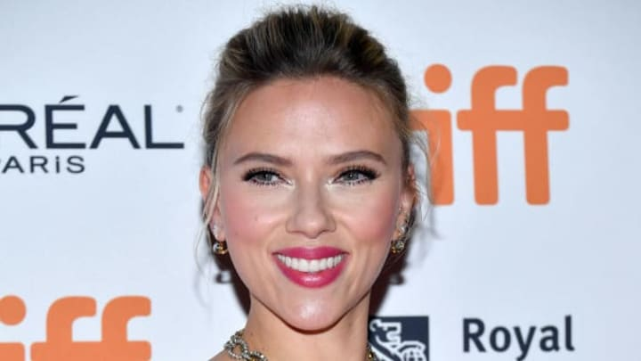 """TORONTO, ONTARIO - SEPTEMBER 08: Scarlett Johansson attends the """"Jojo Rabbit"""" premiere during the 2019 Toronto International Film Festival at Princess of Wales Theatre on September 08, 2019 in Toronto, Canada. (Photo by Amy Sussman/Getty Images)"""