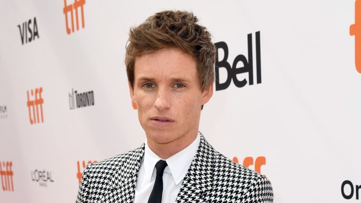 "TORONTO, ONTARIO - SEPTEMBER 08: Eddie Redmayne attends ""The Aeronauts"" premiere during the 2019 Toronto International Film Festival at Roy Thomson Hall on September 08, 2019 in Toronto, Canada. (Photo by Kevin Winter/Getty Images for TIFF)"