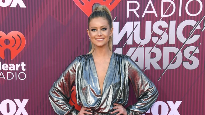 LOS ANGELES, CALIFORNIA - MARCH 14: Hannah Godwin attends the 2019 iHeartRadio Music Awards which broadcasted live on FOX at Microsoft Theater on March 14, 2019 in Los Angeles, California. (Photo by Frazer Harrison/Getty Images)