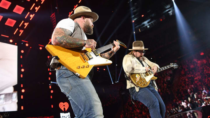 LAS VEGAS, NEVADA - SEPTEMBER 21: (EDITORIAL USE ONLY) Zac Brown Band performs onstage during the 2019 iHeartRadio Music Festival at T-Mobile Arena on September 21, 2019 in Las Vegas, Nevada. (Photo by Denise Truscello/Getty Images for iHeartMedia)