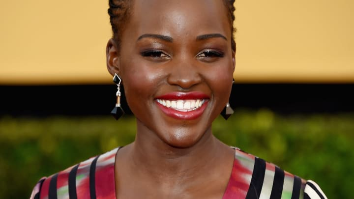 LOS ANGELES, CA - JANUARY 25:  Actress Lupita Nyong'o attends the 21st Annual Screen Actors Guild Awards at The Shrine Auditorium on January 25, 2015 in Los Angeles, California.  (Photo by Ethan Miller/Getty Images)